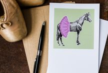 Greeting Cards by Phil the Horse / Good for Good!  Up to 15% of the net profit goes to horse rescue!