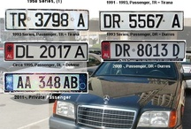 C A R S'   P L A T E S / car plates from all around the world