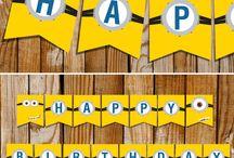 Minion 2nd Birthday