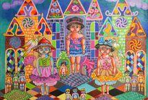 Peintures Annie Lehoux et aquarelles