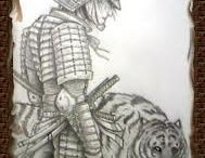 tigre e samurai