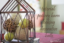 Decorating accessories / by Jennifer Vaughan