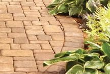 Brick work path