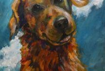 Dogs art