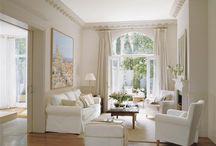 Salas / Com janelas grandes e sem tv