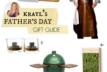 Father's Day Gifts and Recipes / Gifts, ideas, and recipes to take care your guy on Father's day.   #father's day #dad #manfood