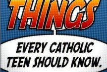 Catholic Resources for Teens / Need some info on your Catholic faith?  We have got it here!