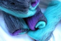 Gorgeous fibers / Dreamy spinning fiber for tuning into gorgeous handspun yarns.