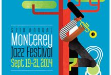 Jazz Festival Posters / Jazz Festivals Around the World / by Resonance Records