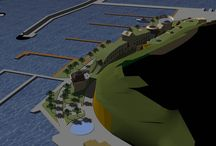 Architettura in Sardegna 7 / Riqualificazione della Marina di Portisco - Olbia - Progetto preliminare