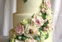 My wedding cakes / No, I haven't got married multiple times - these are some cakes I made for others