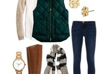 Cold Weather Outfits {vests}