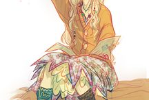 Luna Lovegood / One of the most fabulous personas in Harry Potter is Luna Lovegood, my personal favorite with her wittie character and amazing fashionstyle