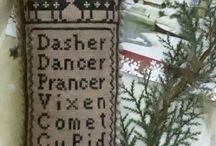 Makedomenders' cross-stitch and embroidery / Tiny stitches all add up to fun and creativity