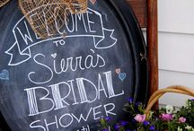 Bridal Shower Ideas / all it takes is a few simple ideas to make your shower special ~   showers, party, gifts, bridal, entertaining, food, table settings, cakes