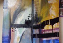 peinture abstraite / mes toiles abstraite