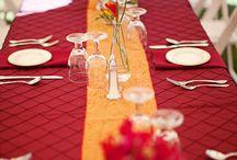 Wedding by Color: Red / #Red #Tradional #RedTheme #ColorTheme #Wedding #Weddings #IndianWedding #IndianWeddings #SJS #SonalJShah #SonalShah #SJSEvents #SJSBook www.sjsevents.com/