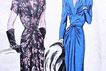 Vintage Pattern Art :: 40s