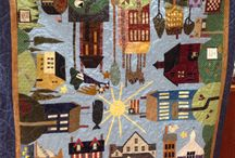 All around the town quilts
