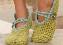 CROCHET KRAZY~FOOTWEAR~SLIPPERS, SOCKS, BOOTIES