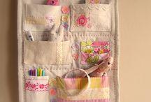 Sewing hanging storage