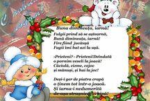 poezii iarnă