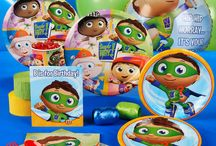Super Why! Party Ideas / Are you having a Super Why Party?