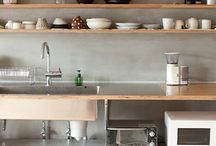 interior: kitchen / by debora reis