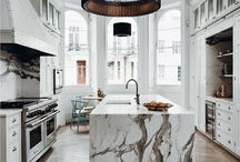 Marble and home furniture / Feel inspired by the marble details in the contemporary and Scandinavian design or the French shabby chic furniture, and find some good home decoration ideas