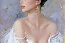 Konstantin Razumov paitings.. / Art.