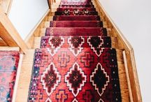 boho stairs