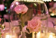 taffel versierings rose