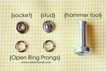 botón presión metálico