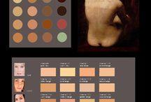 SKIN colors&tutorials