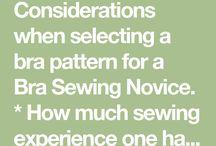bra sewing