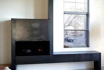Fireplace Ideas / Custom fireplace ideas