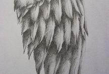 Orly a vtáctvo / figurálne inšpirácie