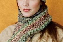 Crochet Scarf Set