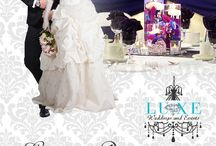 LUXE Weddings and Events / Ads and promotional material from LUXE Wedding and Events, Wedding Decor company in London Ontario Canada.   For more information please visit our website www.eventsbyluxe.com