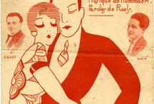 vintage ephemera: sheet music
