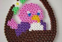 Perler beads easter