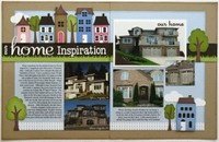 Scrapbooking: 2 Page Layouts / 2 page layout ideas