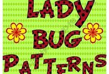 Lady Bugs/ Butterflies