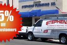 Stephens Plumbing, Heating & Air Conditioning / http://stephensplumbing.net/