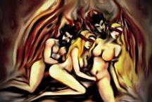 NG ARTCORE / Obra realizada en diferentes estilos por Norman Gonzálezz