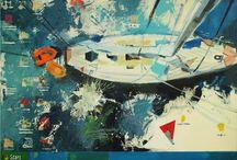 malarstwo  Marysi Widelak (Mary Wide Lake)