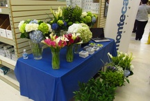 Our flowers on display!