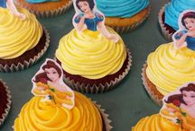 Children's Party Cupcakes / Different ideas for themed birthday parties