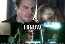 Arrow / Olicity and Diggle ^·^ + their sidekicks + Villans =Star City's Ending.