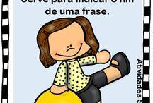 sinais de pontuação português
